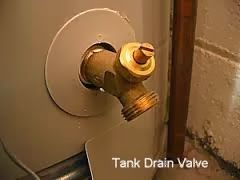 A Leak From The Tank Drain Valve Can Be Fixed Without Replacing The Entire Water Heater Gas Water Heater Water Heater Water Heater Repair