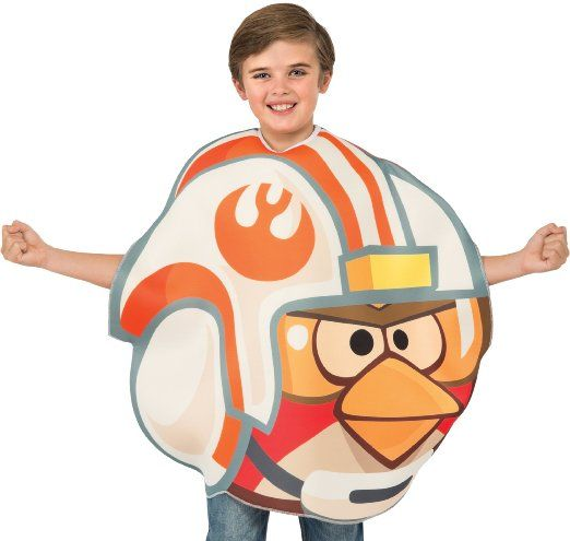NEW Adult Angry Birds Star Wars X-Wing Pilot Costume Unisex One Size Size