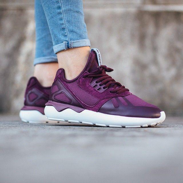 adidas tubular purple