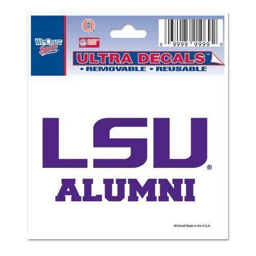 Louisiana State University Ultra Decal 3x4 ALUMNI
