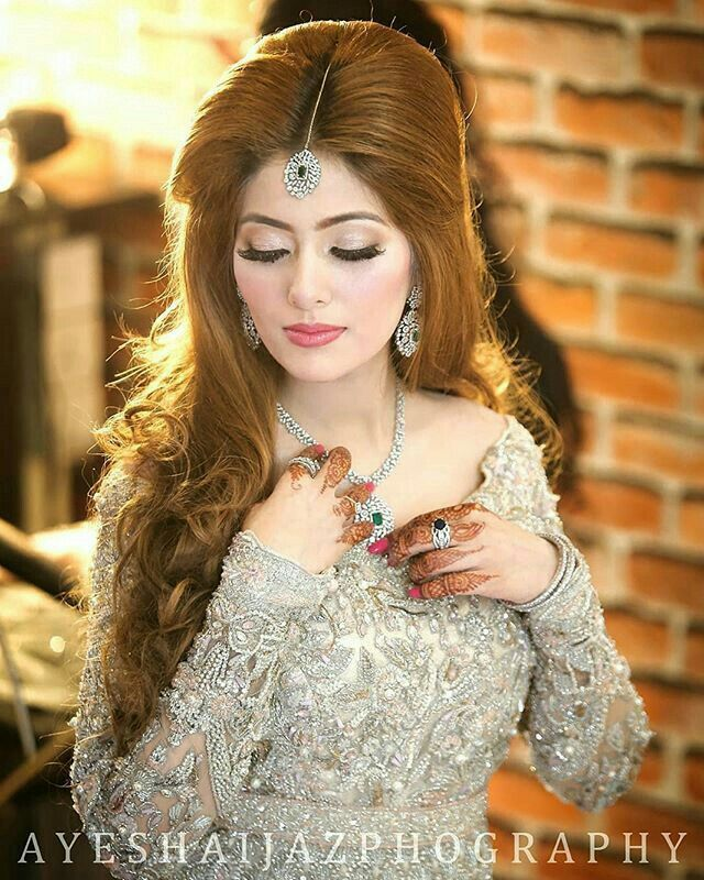 Hairstyles Pakistani Waleema: Pakistani Bridal Hairstyles