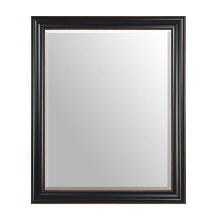 Black Framed Mirror, 28x34 | Kirklands | Vanity | Pinterest | Black ...