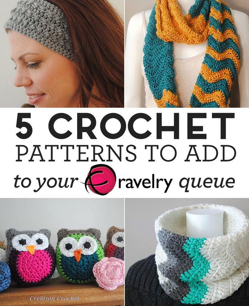 5 Crochet Patterns To Add To Your Ravelry Queue | Moogly Community ...