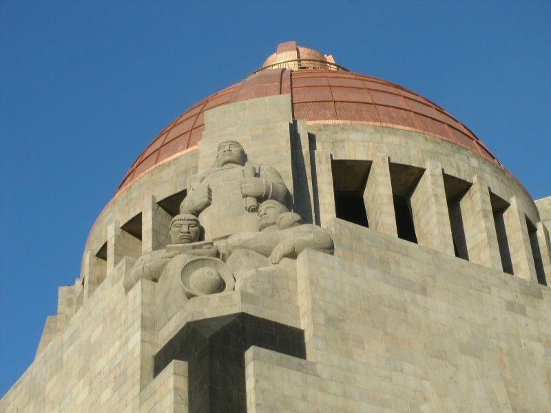 Monumento a la revolucon - Ciudad de Mexico.
