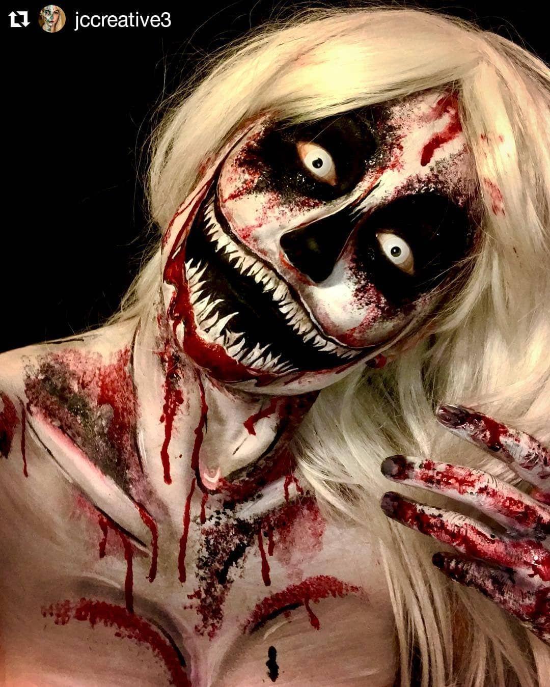 so so so scary halloween makeup ideas for women