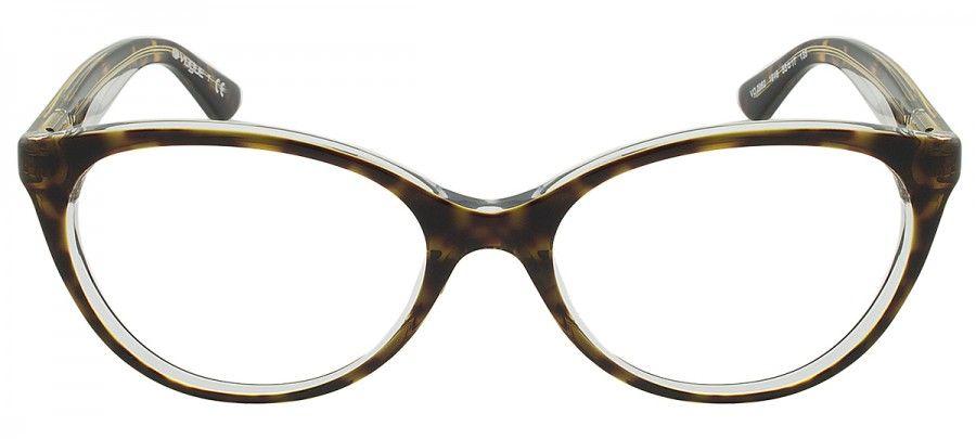 """Compre Óculos de Grau Vogue - Tartaruga Transparente - em até s juros com  frete grátis na eÓtica"""" 86fdf1834f"""