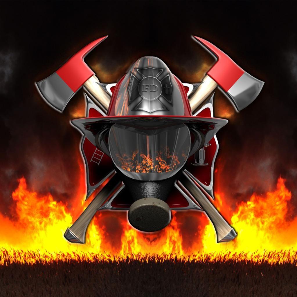 volunteer firefighter logo wallpaper wwwpixsharkcom