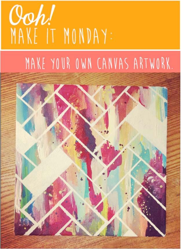 37 awesome diy wall art ideas for teen girls canvas art - Teenage wall art ideas ...