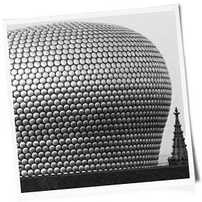 Selfridges iconic store in Birmingham England. It's kind of a big deal when it comes to store design. And it helps create word of mouth for the brand as demonstrated here.