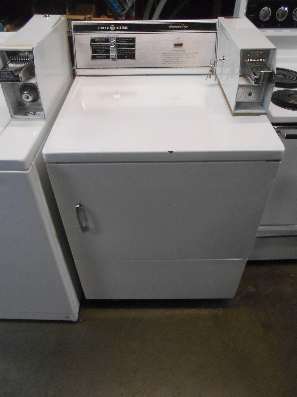 Pin By Appliance City On Ge Commercial Dryer Dryer Appliances Washing Machine