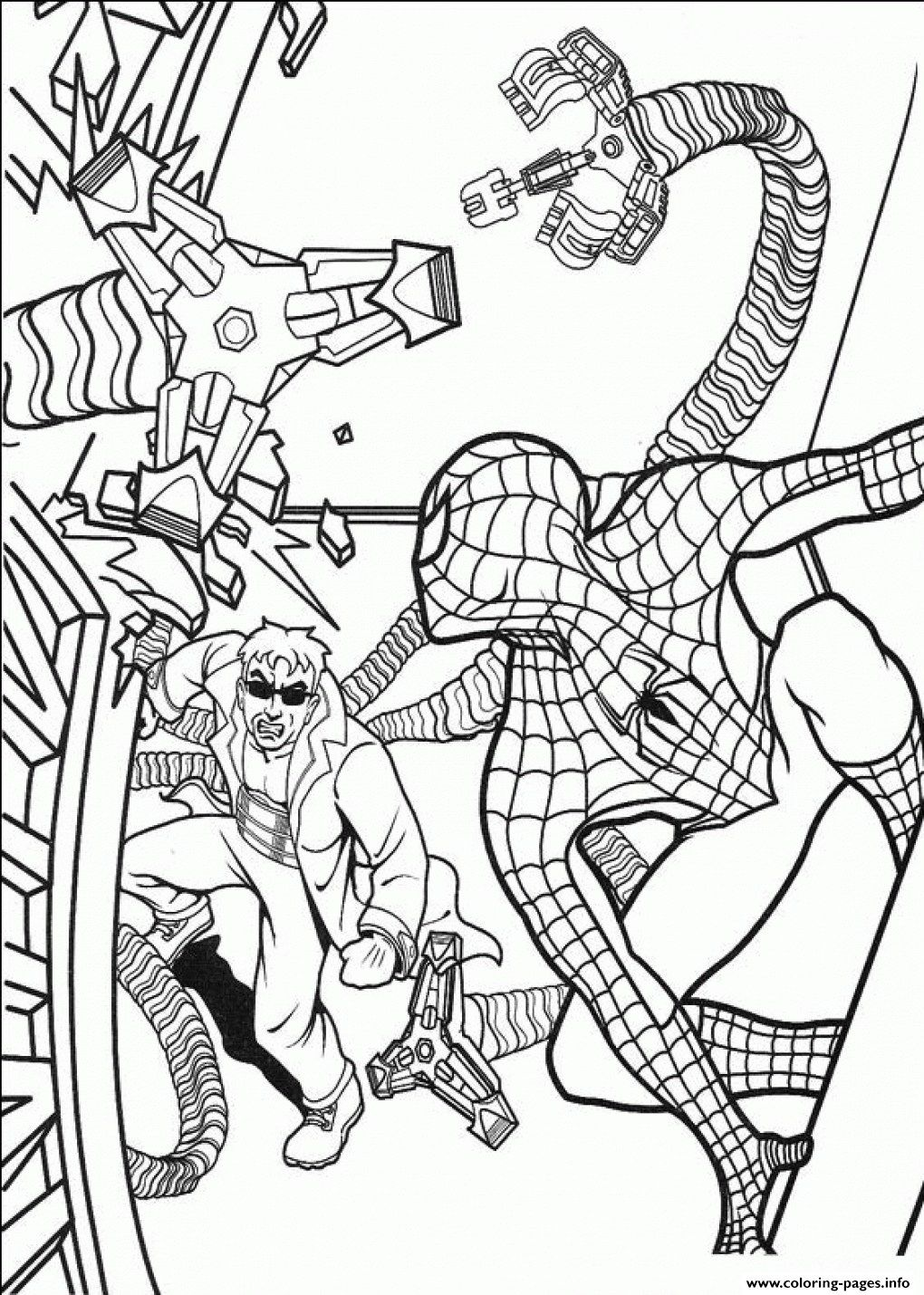 Marvelous Image Of Free Spiderman Coloring Pages Davemelillo Com Spiderman Coloring Cartoon Coloring Pages Halloween Coloring Pages