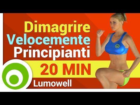 routine di fitness per i principianti per perdere peso