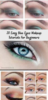 20 easy blue eyes makeup tutorials for beginners  20