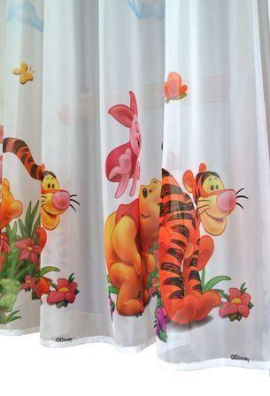 Gardine für das Kinderzimmer | Winnie Pooh | Kinderzimmer ▷ Winnie ...