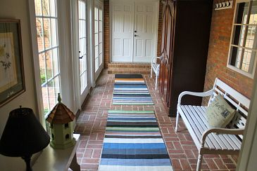 Turn A Breezeway Into A Mud Room Breezeway Mudroom Cozy House
