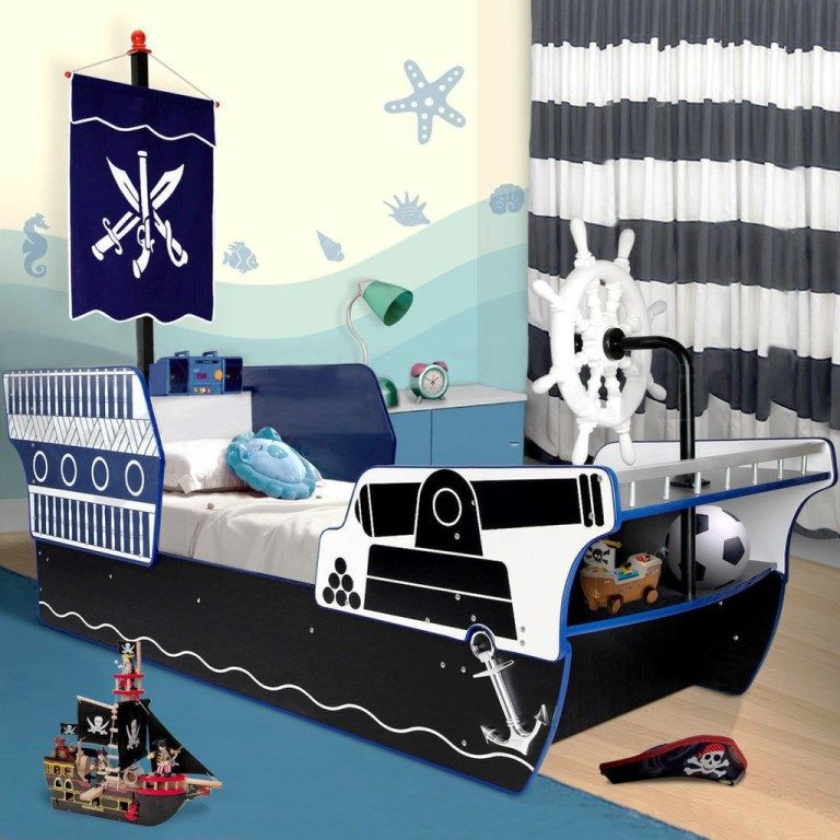 Pirate Ship Beds in 12 Realistic Designs | Rilane - We Aspire to Inspire