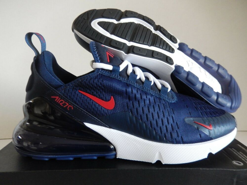 ca7d7e4e58f82 WMNS NIKE AIR MAX 270 ID NAVY BLUE-WHITE-RED