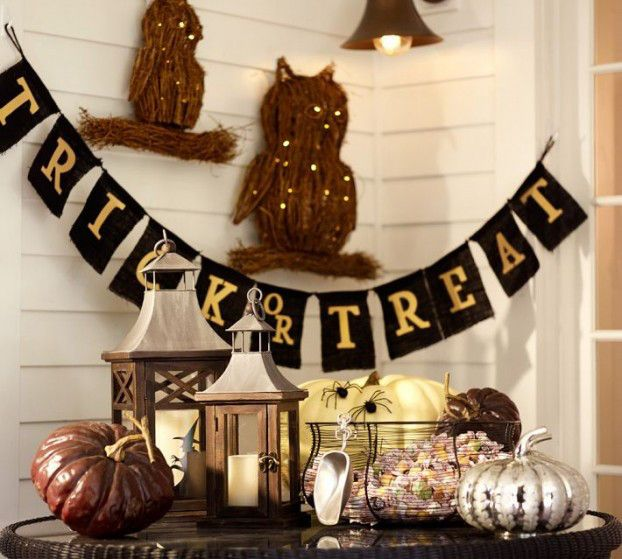 indoor halloween decorating ideas with pumkin 19 podzimní dekorace - halloween indoor decorating ideas