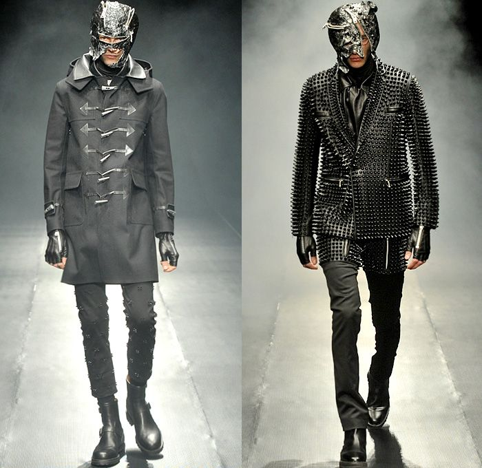 99 is by bajowoo 2014 2015 fall autumn winter mens runway for Mercedes benz leather jacket