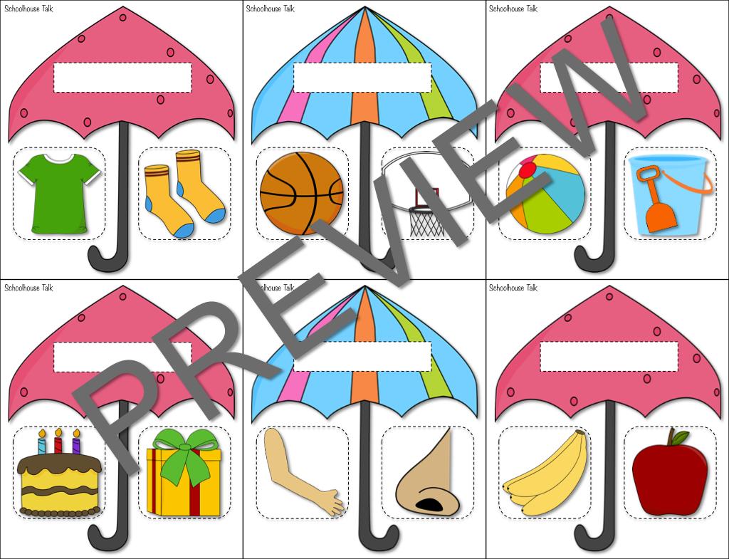 Umbrella Categories