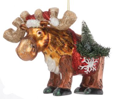 Pin by No Hunter on Moose Pinterest Christmas ornament and Ornament - moose christmas decorations