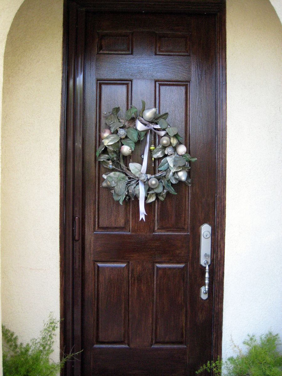 Faux Wood Doors Love Paper Paint Make An Entrance
