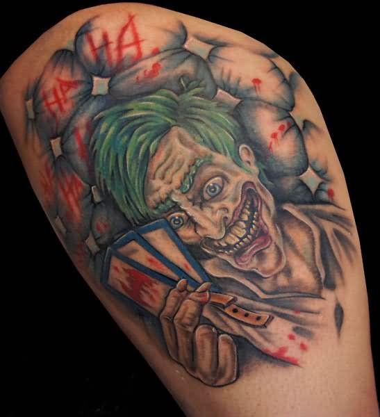 Pics Photos - Tattoos Evil Tattoos Cartoon Tattoos Custom Tattoos ...
