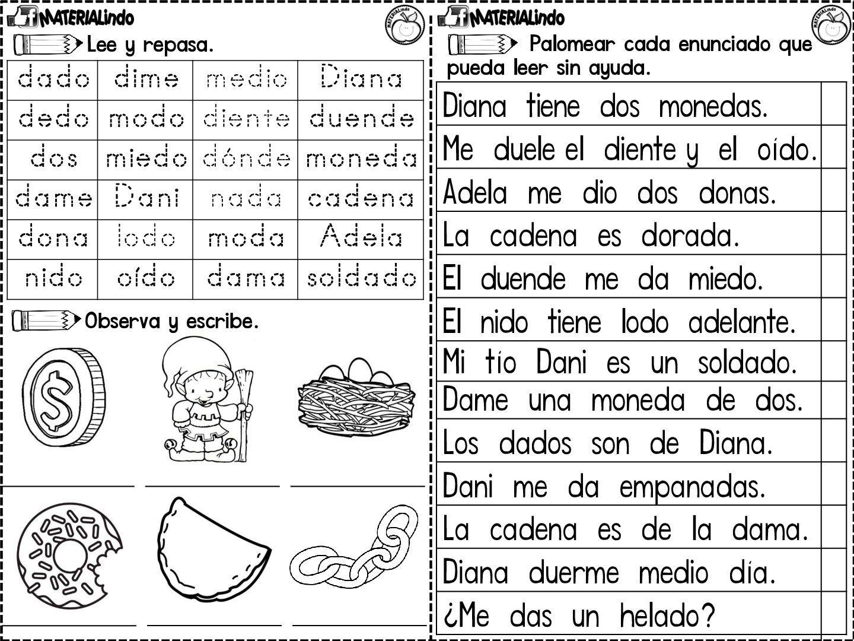Lectoescritura 90 Fichas Completa Leo Y Escribo Las