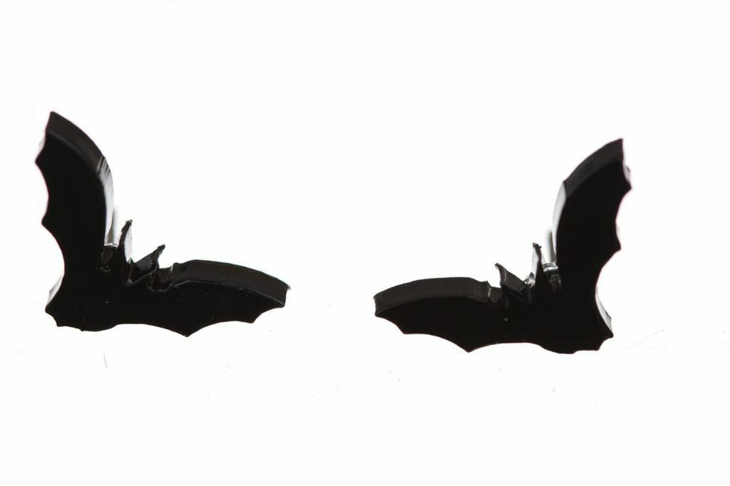 Bat Earrings http://shop.nylon.com/collections/whats-new/products/bat-earrings #NYLONshop