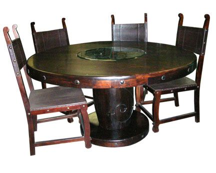 Dining Room Furniture San Diego Pleasing I Like The Metal Accents On This Dining Room Table  Dining Room Inspiration