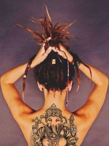 Tatuajes Hindu Para Mujeres Con Significado Tatuajes
