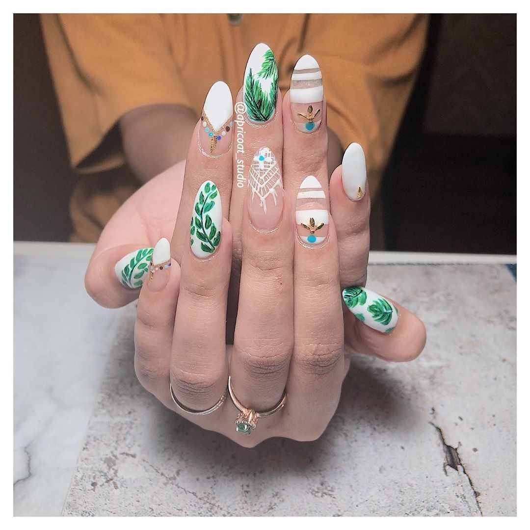 Nails Art Instagram In 2020 With Images Nail Art Courses Rose