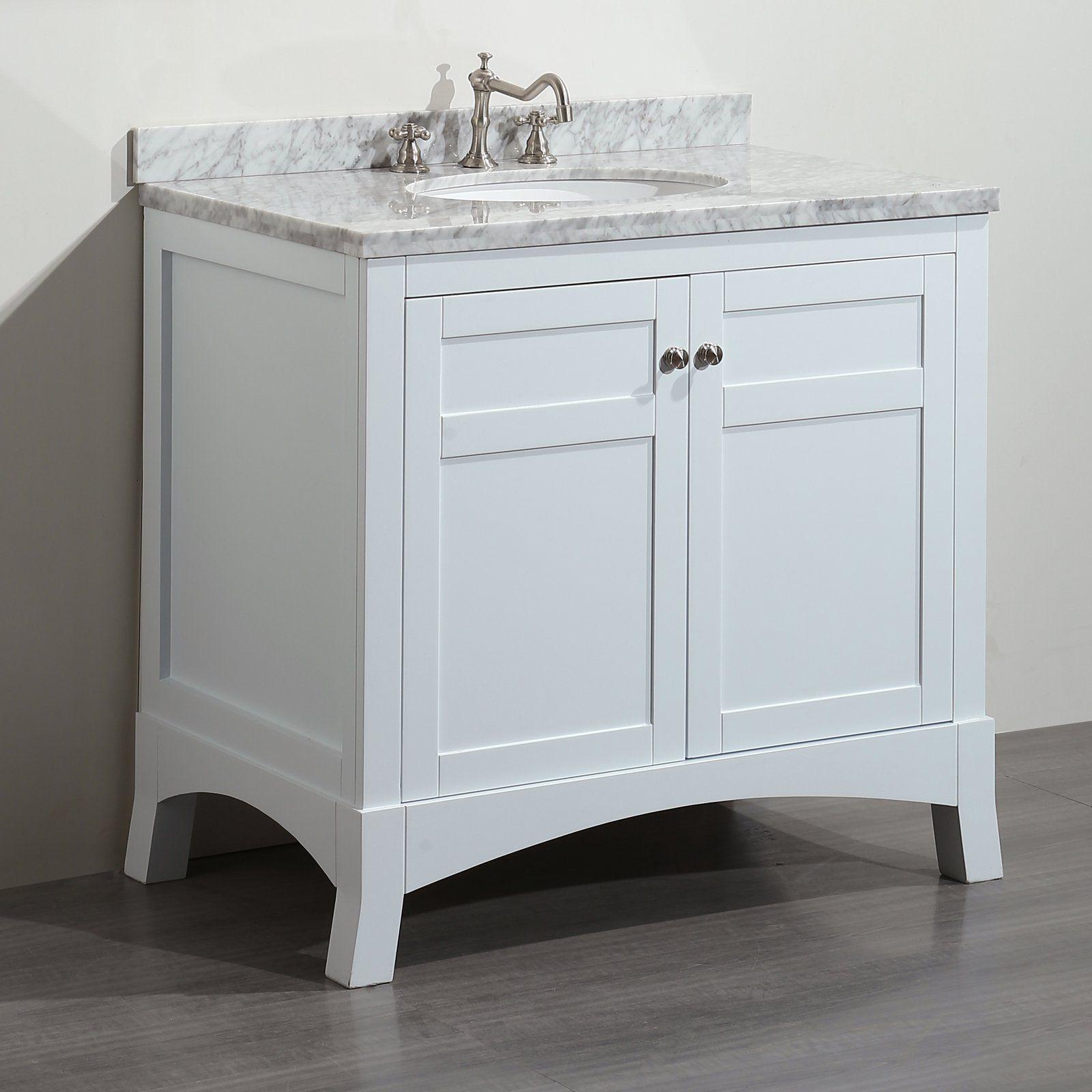 Eviva New York 36sgle Sk Bathroom Vanity Set from