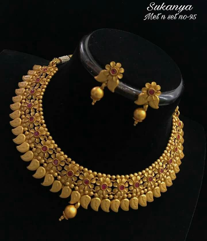 Pin by Sudha on Necklaces | Pinterest | Jewel, Jewelery and Gold