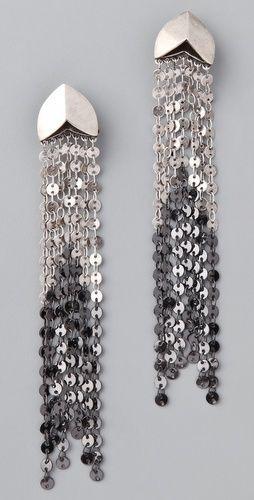 Giles Brother Taki Silver Oxide Hemae Earrings Stylesays