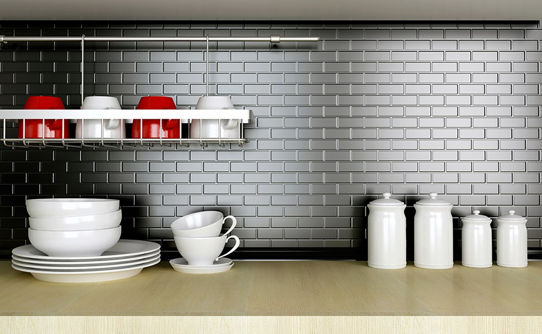 Blog Articles Beadboard backsplash, Metal tile