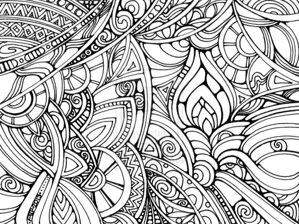 Coloring Pages Astounding Fun Coloring Pages For Adults: Trippy ...
