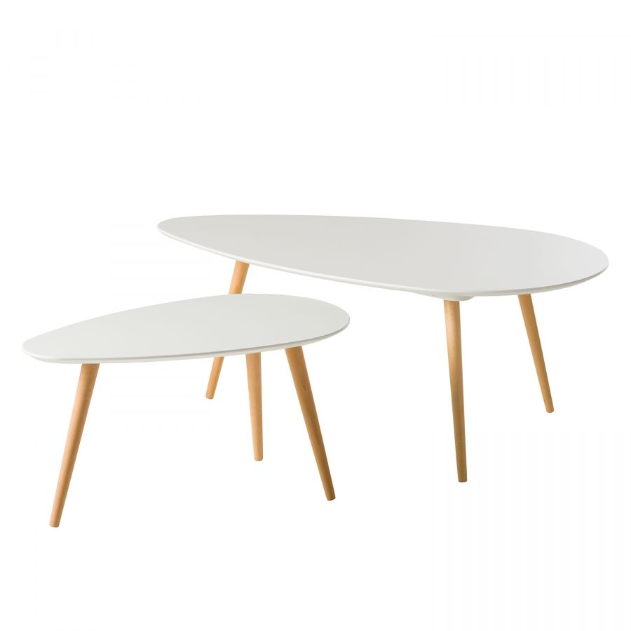 Couchtisch Oval Buche Couchtisch Lilja I 2 Teilig Saselwood Table Table Furniture