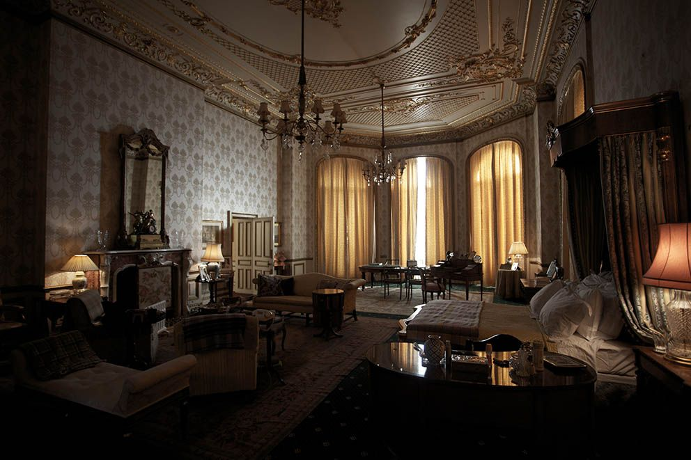 Buckingham Palace Queens Bedroom | Royal Palace ...