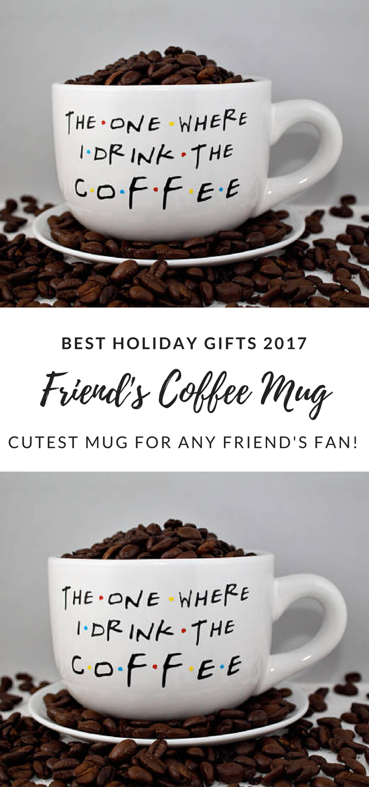Coffee-The One Where I Drink The Coffee-Friends TV Show Gift Guide ...