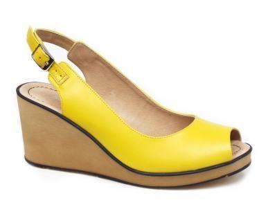 Rylko 6hh26x Zolta Moda Na Koturnie R 37 Bucik 6209258439 Oficjalne Archiwum Allegro Shoes Fashion Wedges