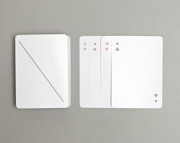 Minimalist IOTA by Joe Doucet card game by design hunting