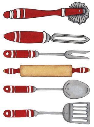 Utensilios cocina vintage pinterest utensilios for Utensilios de cocina vintage