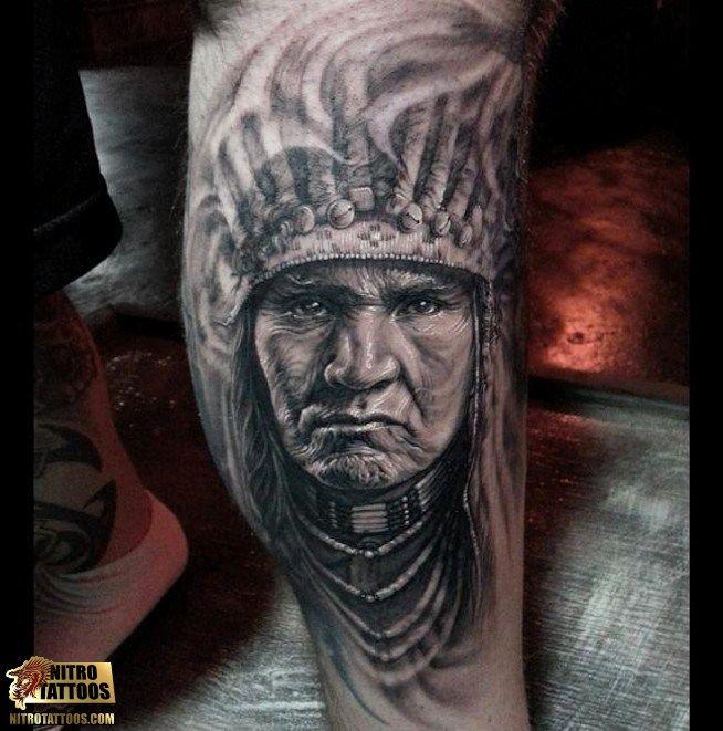 indian warrior tattoos tattoos tattoo tattoosideas