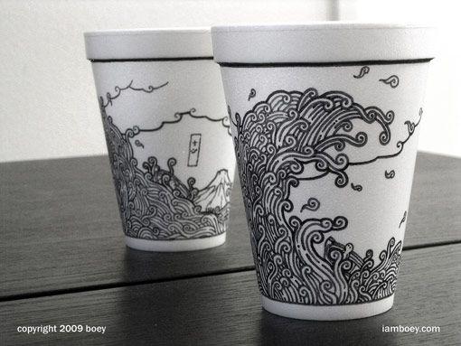 coffee cup drawings by boy obsolete packaging coffee or tea