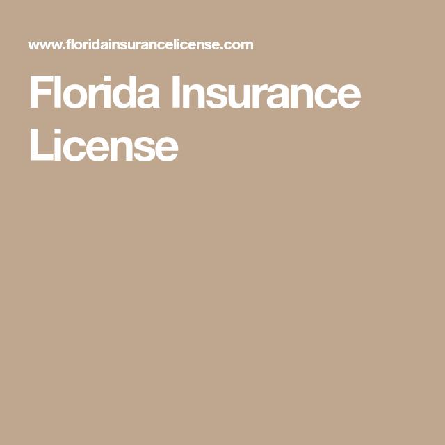 Florida Insurance License Insurance License Florida Insurance