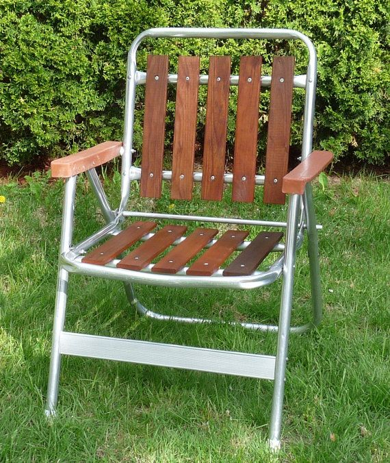 Retro Aluminum Patio Furniture did somebody say patio party? vintage retro redwood wood slat