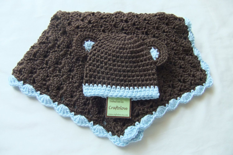 Image result for baby boy granny square blanket