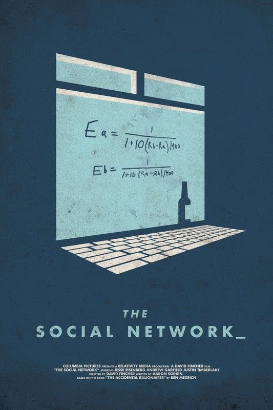 The Social Network poster by Matt Chase | Movies/Posters | Pinterest ...