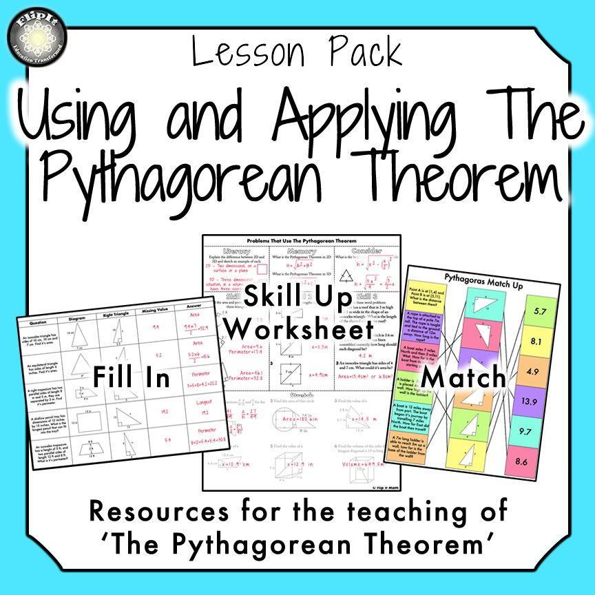 Using and Applying the Pythagorean Theorem Pythagorean